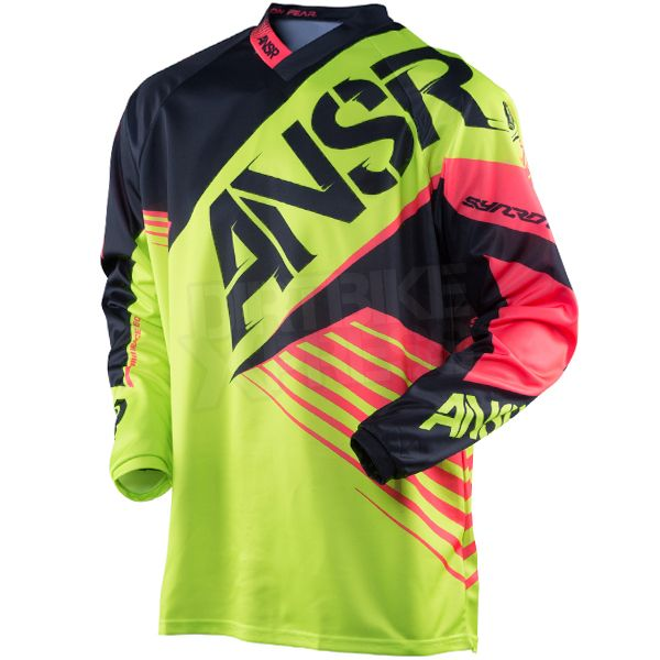 2016 Answer Syncron Jersey - Acid Black Red