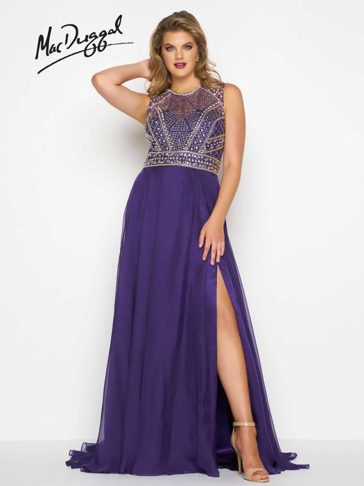 Fabulouss by Mac Duggal 65986F Fabulouss by Mac Duggal Lillian's Prom Boutique