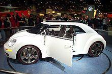 Volkswagen New Beetle  ragster 2005 concept