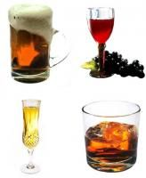 yeast-free alcohol drink ideas....look for sterile filtered for wines, particularly vegan.