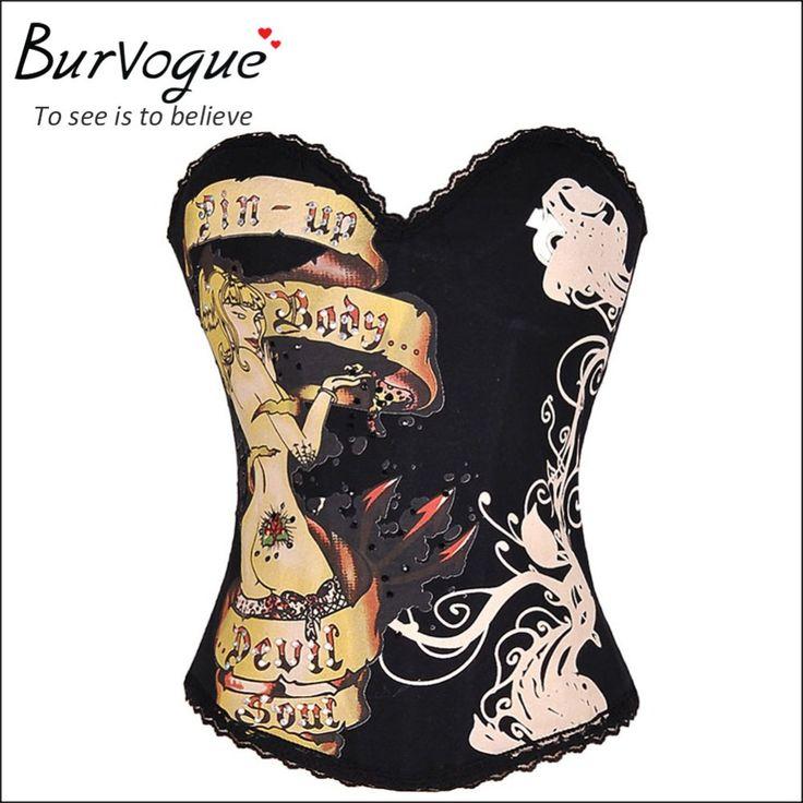 Cheap In vendita!!  Corsetto reale shaper più bustier body corsetto top steampunk sexy overbust corsetti di formazione alla vita per la donna, Compro Qualità Bustiers & corsetti direttamente da fornitori della Cina:                      Esposizione del prodotto