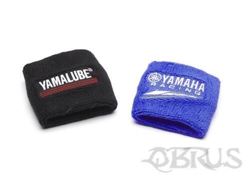 Yamaha Wrist Bands Set of two wrist bands One wrist band in Yamaha Racing Blue with the Yamaha Speedblock graphics One black wrist band with the Yamalube logo - our brand of oil and maintenance products that prolong the life of your Yamaha Both graphics and logo are embroided £4.56 inc vat. All available to order from QBRUS 01621 893227