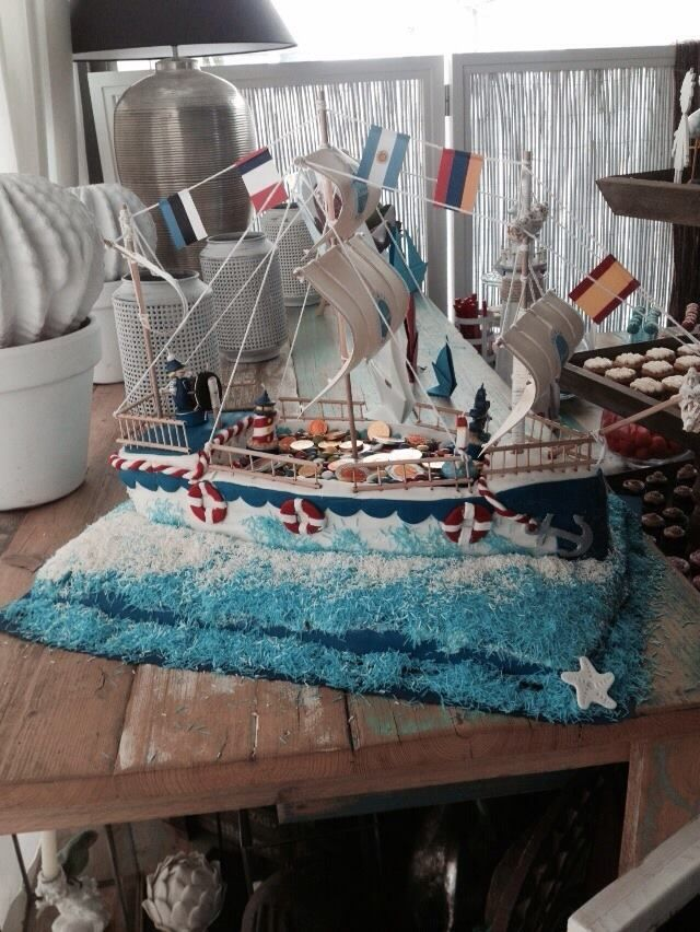 Tarta estilo marinero by Karina