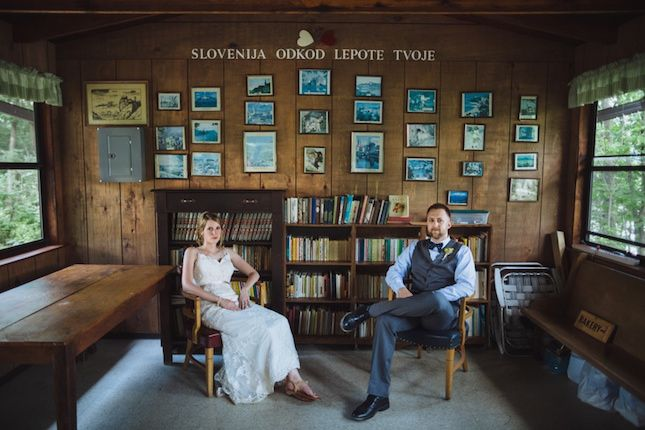 This Rustic Lakeside Wedding Is to DIY for via Brit + Co.