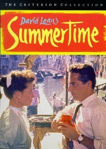 Summertime (1955) with Katharine Hepburn and Rossano Brazzi. (Image from Amazon)