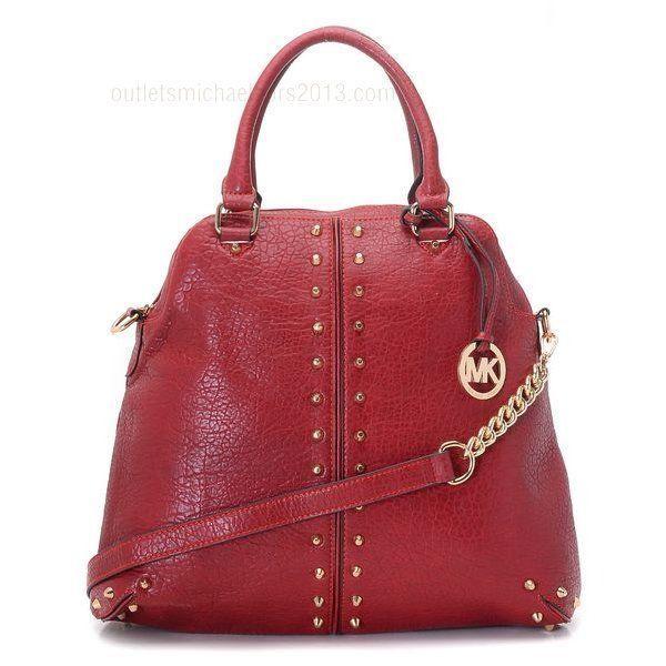 Red Michael Kors Bedford Bag