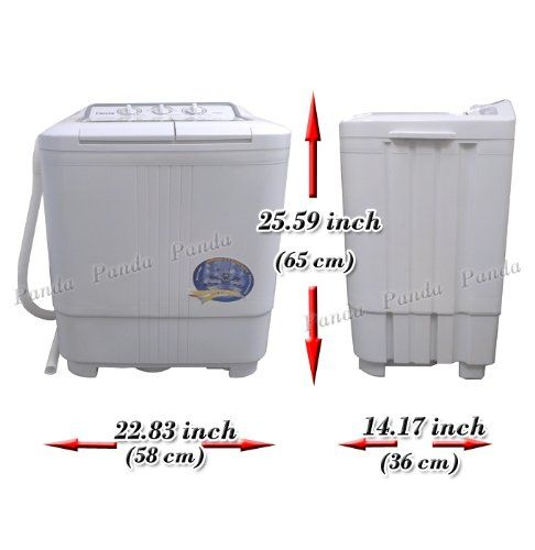 Amazon Com Panda Small Compact Portable Washing Machine 6