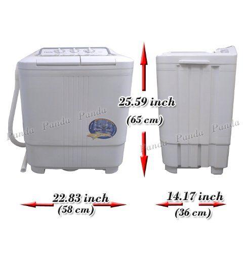 Amazon Com Panda Small Compact Portable Washing Machine 6