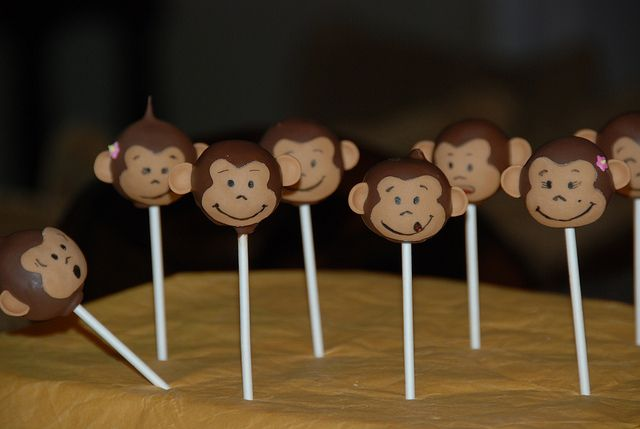 monkey cake pops | Monkey Cake Pops | Flickr - Photo Sharing!