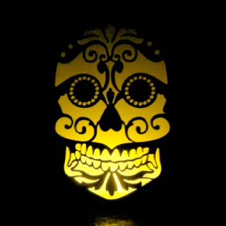 1000+ images about skull wall sconce on Pinterest ...