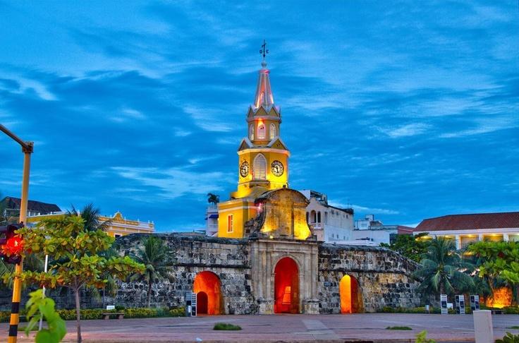 Torre del Reloj, Cartagena Colombia.