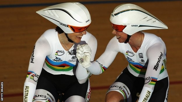Anna Meares and Kaarle McCulloch