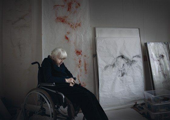 Adriena Šimotová - painter Czech Rep.