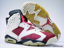 Learn all the important facts about Michael Jordan's sixth signature shoe.: Carmine