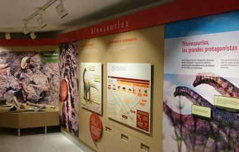 Ruta de los Dinosaurios de Cuenca (Centro Expositivo de Fuentes)