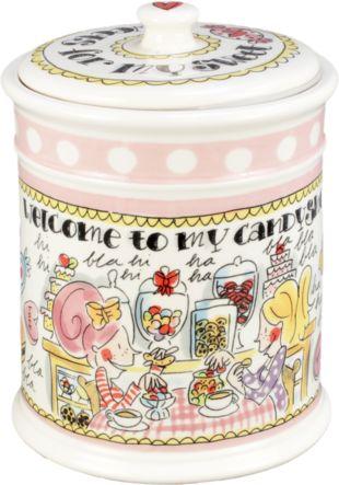 Voorraadpot sweets roze 'Even bijkletsen' van Blond-Amsterdam - Blond-Amsterdam officiële website