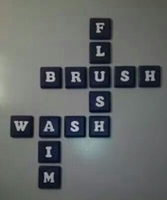 For the kids bathroom!