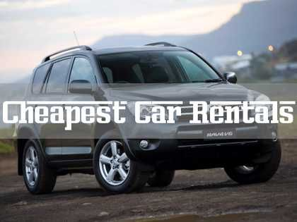 Your Guide to Getting the Cheapest Car Rentals