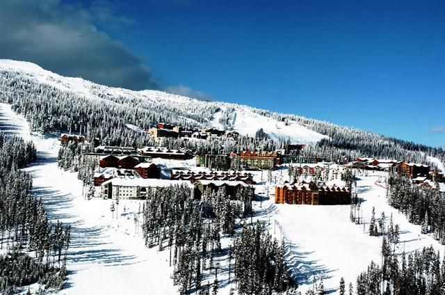 Big White Ski Resort, north of Kelowna, British Columbia