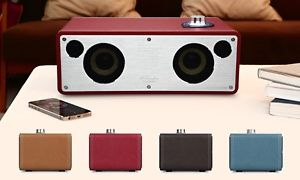 Groupon - Enceinte Wifi M-Freedom sans fil, revêtement cuir, quatre coloris au choix à 199€, livraison offerte (33% de réduction) à [missing {{location}} value]. Prix Groupon : 199€