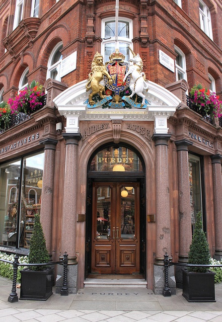Purdey: Audley House ~ South Audley Street. The most exclusive gun maker in the UK