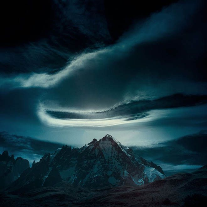 Patagonia, edge of the earth. Credit: Andy Lee.