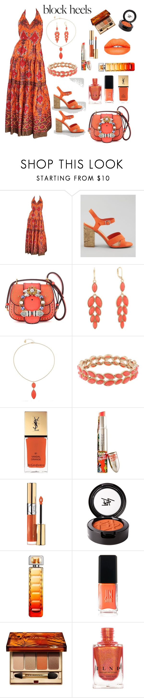 Usher roller shoes video - Exotic Orange By Siriusfunbysheila1954 On Polyvore Featuring Frank Usher New Look Miu Miu