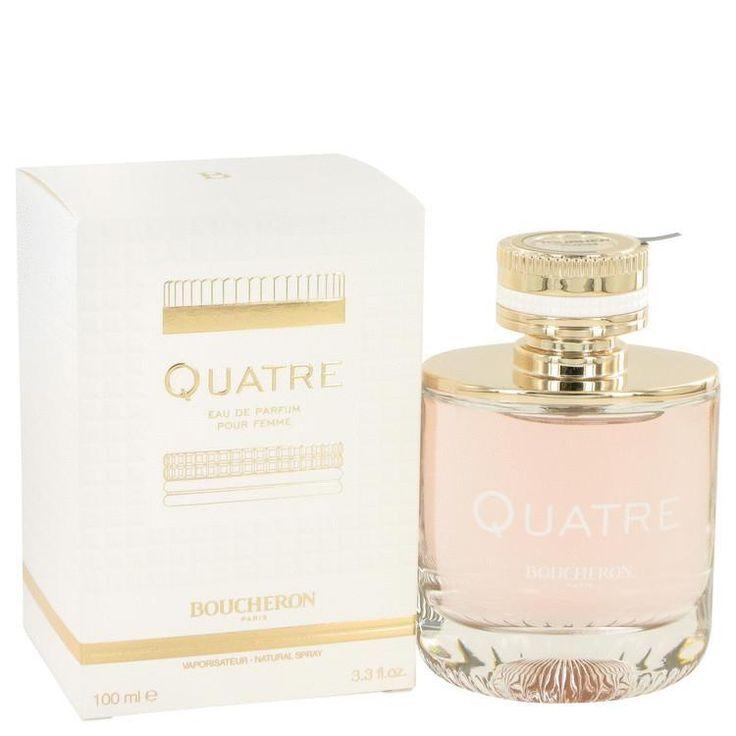 Quatre by Boucheron Eau De Parfum Spray 3.3 oz