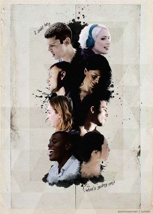 Sense8: I just watched the 1st season.... I am hooked. Love the story & the characters are HOT!