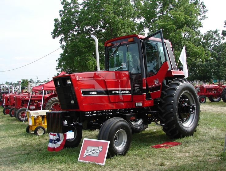 1086 Ih Plowing : Best images about red power round up lima oh on