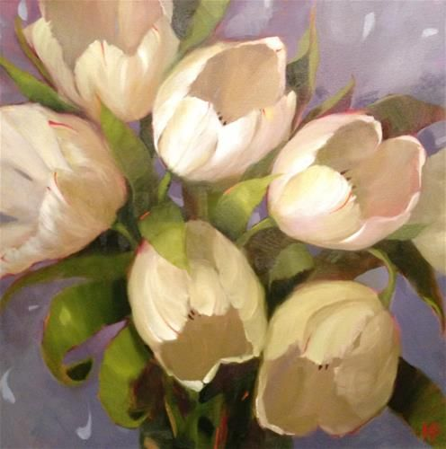 """Daily Paintworks - """"Rejuvenation"""" by Krista Eaton"""