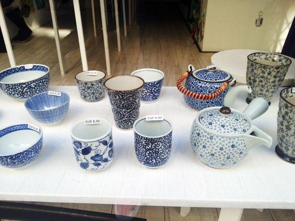 Aki Boulangerie environs - Japanese tea service