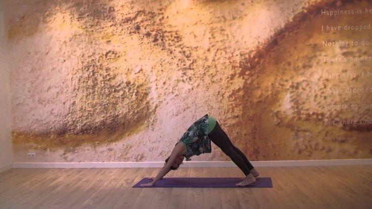 Yoga mit Yogalexa: zonnegroet variatie in het Nederlands