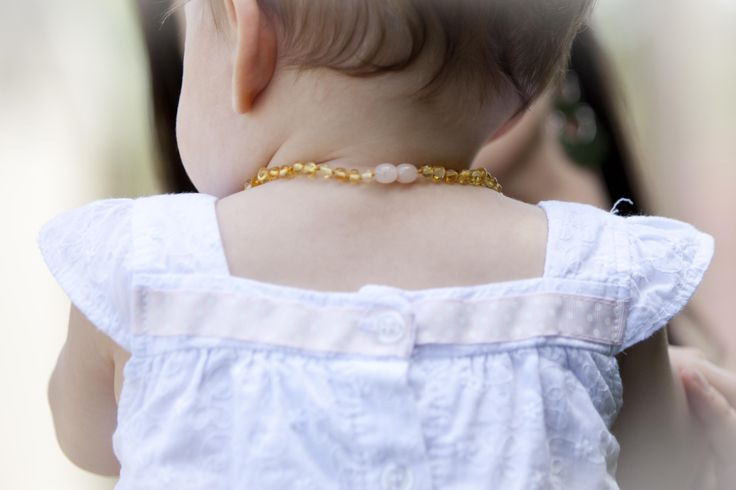 Safety clasp included on all Fancy Amber Baby necklaces and bracelets.
