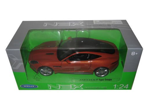 Diecast Auto World - Welly 1/24 Scale Jaguar F-Type Orange Diecast Car Model 24060, $13.99 (http://stores.diecastautoworld.com/products/welly-1-24-scale-jaguar-f-type-orange-diecast-car-model-24060.html/)