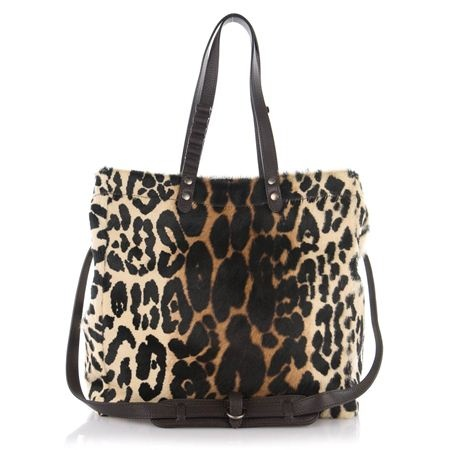 Fedra bag : Leo skull printed horse leather