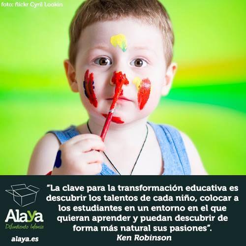 La #clave para la #transformación #educativa, por @SirKenRobinson