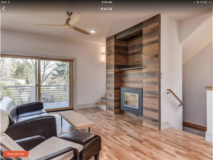 Sulphur Springs house - love the built in wood around the gas fireplace