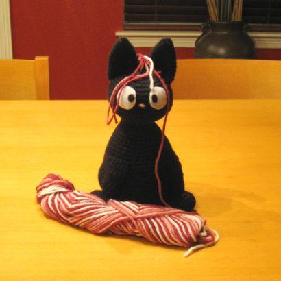 JiJi the cat ....crochet patternJiji, Cat Pattern, Cat Crochet, Crochet Toys, Cat Free, Kiki Delivery, Delivery Service, Crochet Patterns, Black Cat