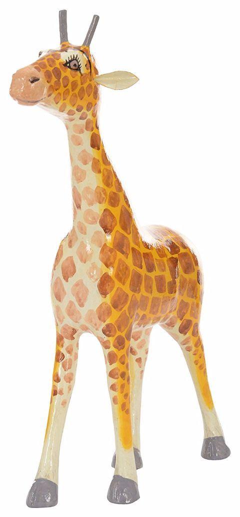 Utsav Kraft Wooden Giraffe Showpiece