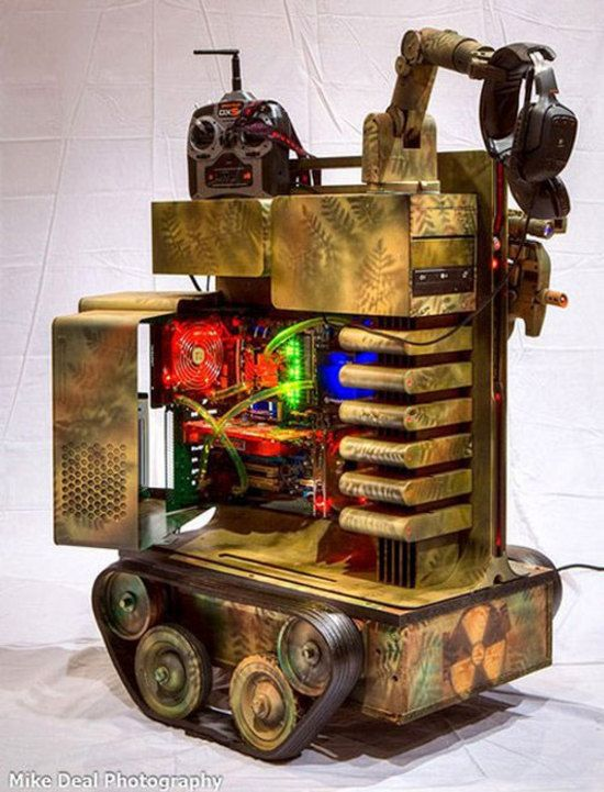 Gaming Panzer PC Mod wants to scare
