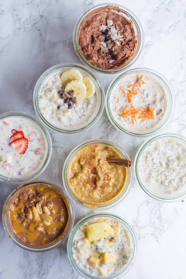 8 Classic Overnight Oats Recipes You Should Try | back to her roots | Bloglovin'