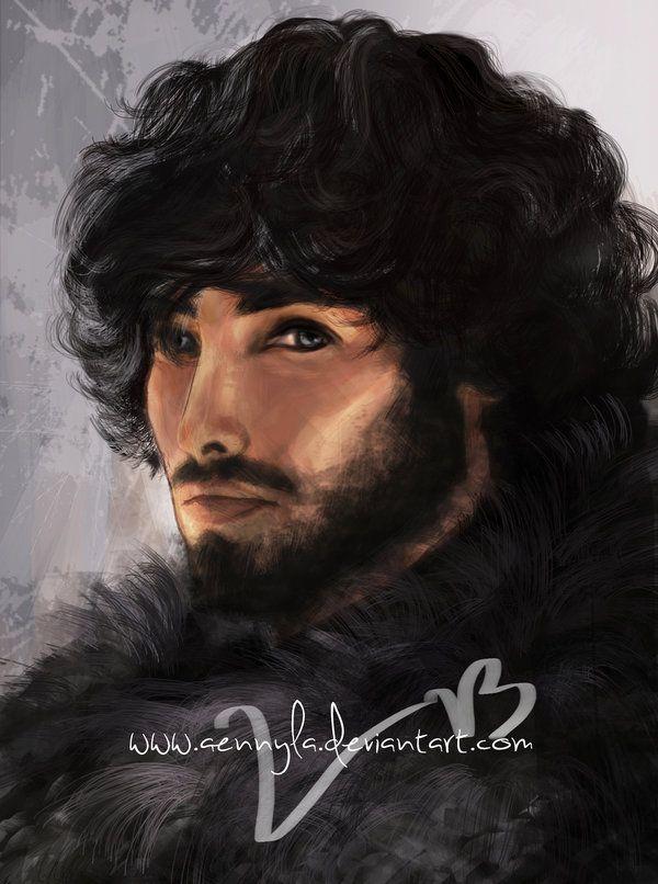 Jon Snow by Aennyla