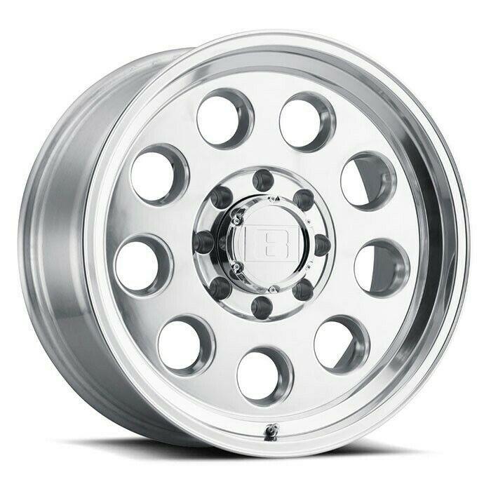 18 Level 8 Hauler 18x9 Polished 5x5 For Jeep Truck Wheel 0mm 5 Lug Rim Ebay Wheel Rims Bolt Pattern Rim