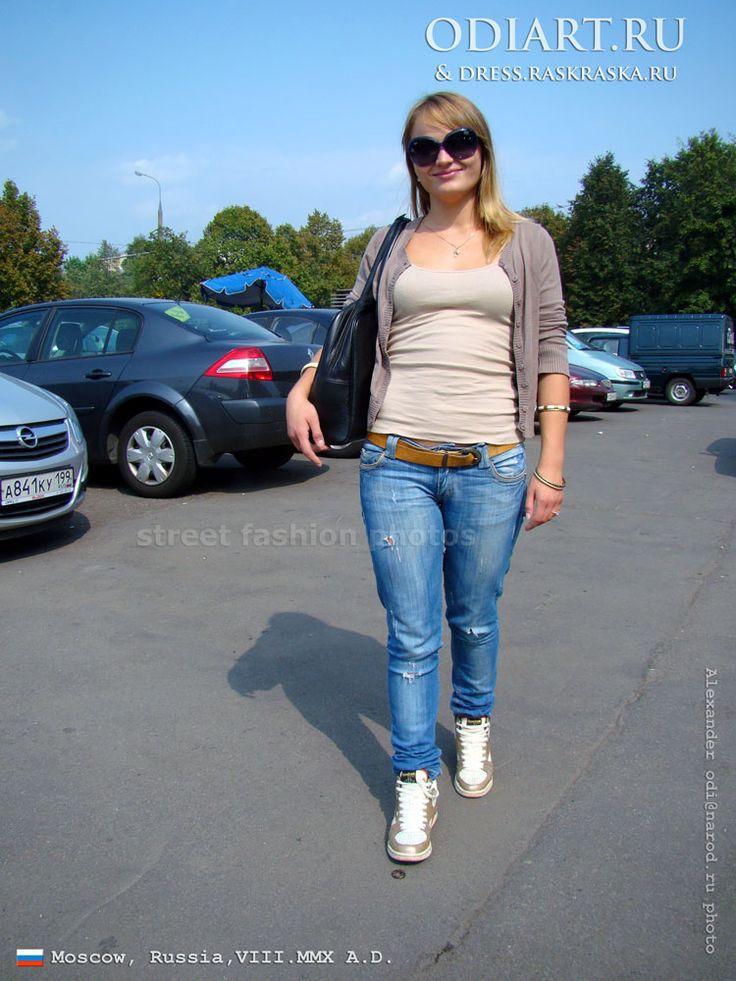 телки в джинсах фото