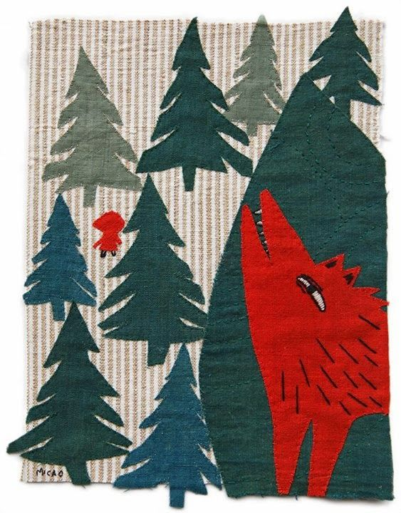 Little Red Riding Hood by MICAO