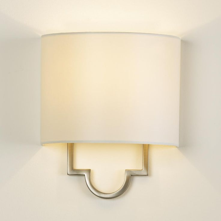 """STAIR LANDING:  Modern Classic Wall Sconce in Dark Bronze or Satin Nickel, 11""""H x 10""""W x 5.5""""D - $139 by Shades of Light"""