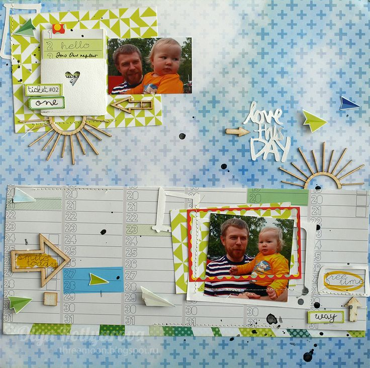 More layouts by Olya Kotlyarova )