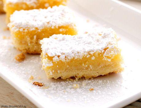 High Tea Recipes - Lemon Squares | Babble