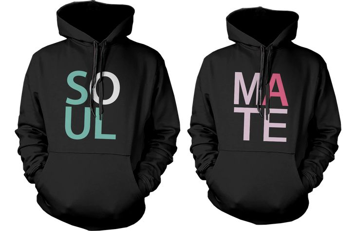 Soulmate Matching Couple Hoodies (Set)